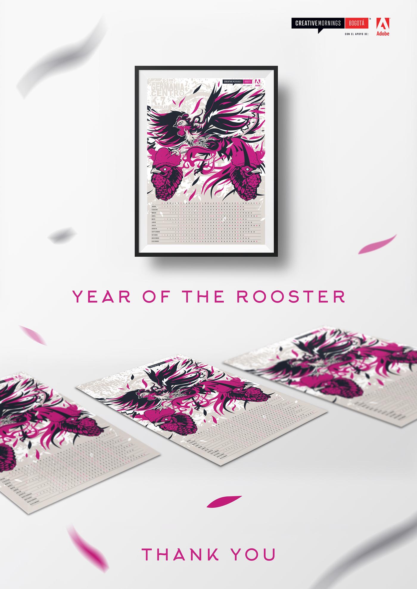 año del gallo 2